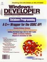 Windows Developers Journal, January, 2002
