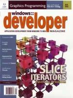 Windows Developer Journal, July, 2002